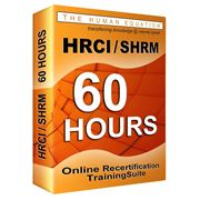 hrci-shrm-60-hour-online-recertification-training-suite image