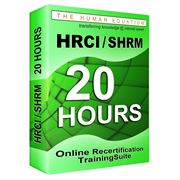 hrci-shrm-20-hour-online-recertification-training-suite image